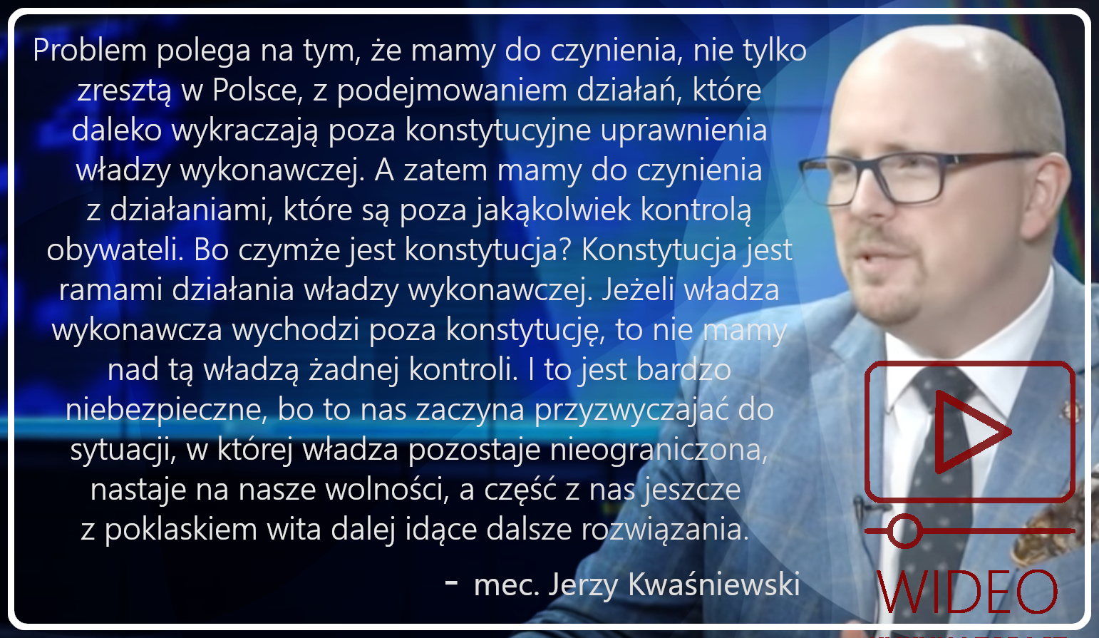 Zobacz wywiad z mec. Jerzym Kwasniewskim z Ordo Iuris - https://youtu.be/koFTWMKFRD0
