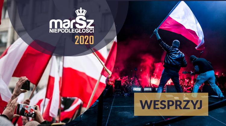Wesprzyj organizację Marszu Niepodległości: https://zrzutka.pl/marsz2020